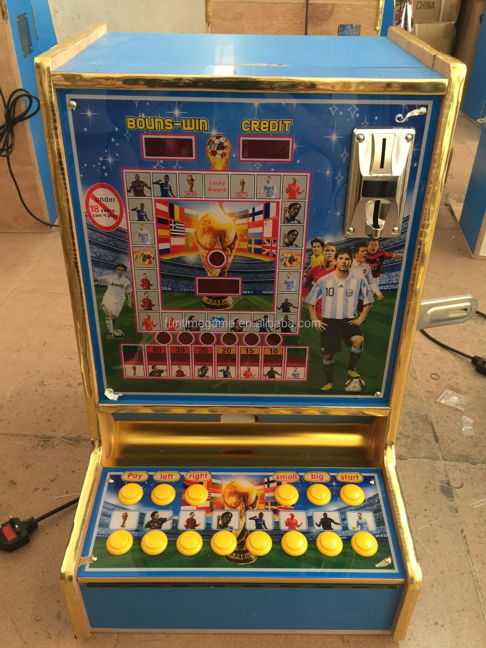 slot machine tables for sale