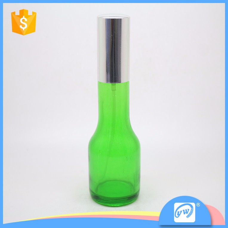 A346-50ML car air freshener green color glass spray perfume bottle factory