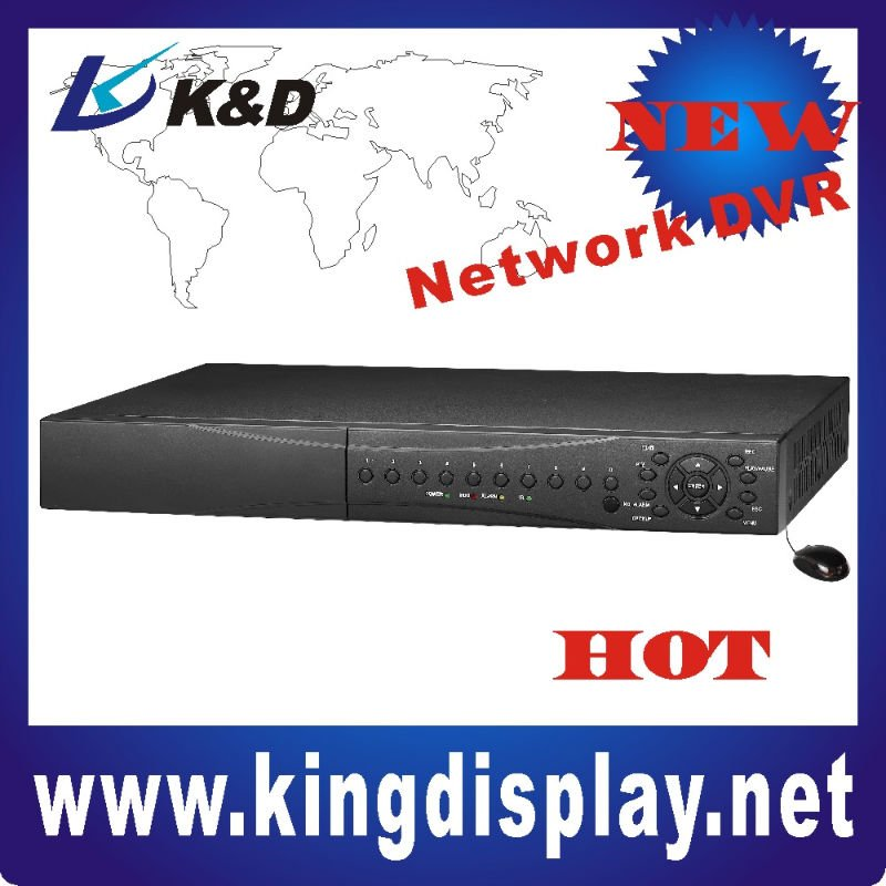16ch real time DVR support 3G mobile phone surveillance