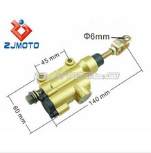 Motorcycle Golden Foot Rear Master Cylinder Hydraulic pump 50cc 70cc 90cc 110CC 125cc ATV Quad Dirt Bike