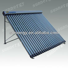 Pool heating evacuated tube solar collector