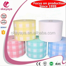 Roll Towel Fabric Non-Woven Facial Soft Towel Roll For Hospital/Clinic/Hotel/ Beauty Parlour