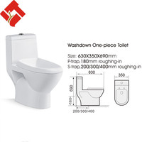 bathroom designs one piece indoor chemical toilet