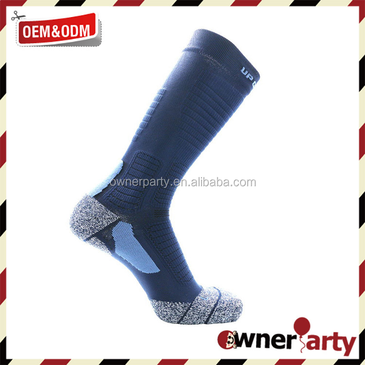 Custom Men Dri-Fit Crew Sport Wholesale White Compression Basketball Socks