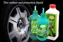 Protect & fix tyres of truck car motorbike and bike instantly with industrial heavy duty ultra rubber tire sealer