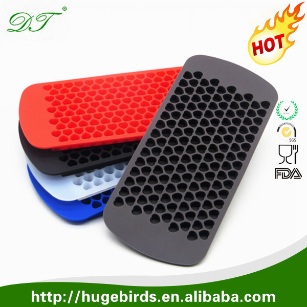 Wholesale Custom Fancy FDA Personalized Silicone Ice Cube Tray & Custom Slicone Ice Tray