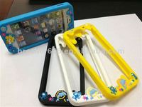 Silicone Hot Bumper case for mobile phone