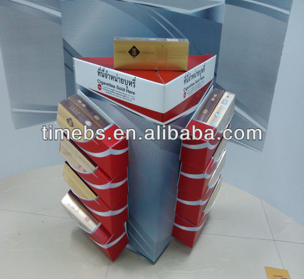 Printed polypropylene corrugated plastic display