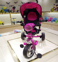 2016 new design hot sale tricycle toy with music and light for baby with best quality for 1-4 years old