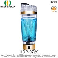 Only we supply 600ML Customized Plastic Electric Protein Shaker