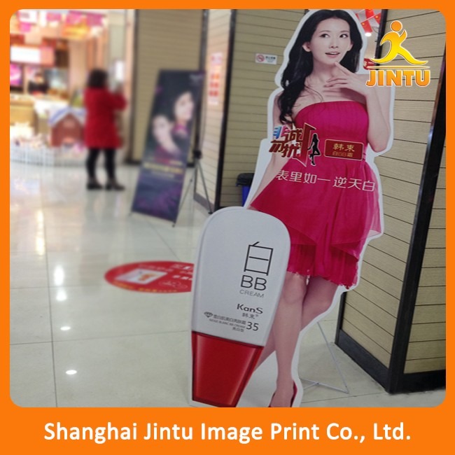 Cheap price outdoor advertising pvc foam sign boards free standing (JTAMY-2016030317)