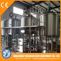 1000L Commercial Beer making machine close to the German technology beer brewing equipment
