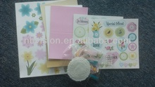scrapbooking kit for making card and diy items / Scrapbooking Set