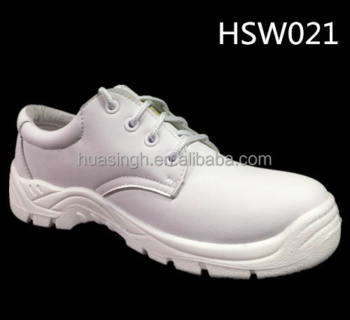 food and pharmaceutical industry widely used sanitary white safety shoes