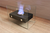 inovation 2015 Cute and Cheap ethanol table fireplace with real fire