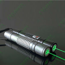 OXLasers high power focusable Burning Green Laser Pointer flashlight with 5 star caps burn matches