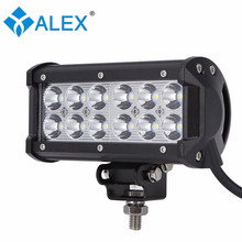 36W work lights 36W car LED strip lights car motorcycles modified off-road vehicle lights repair LED