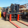 Used 30ton toyota lift truck for sale/secondhand toyota forklift 30ton/japanese forklift 30ton FD300