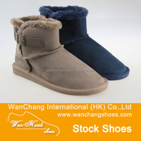 High quality classical stock cheap women's snow boots made in china