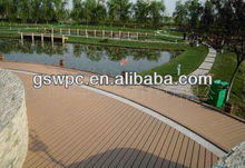 Green natual material outdoor wpc flooring/wpc decking