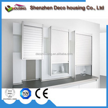 Durable manual operate aluminum roller shutter/kitchen cabinet roller shutter