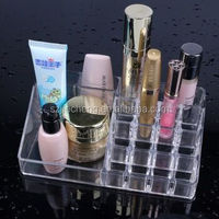 Wholesale high quality mac makeup acrylic cosmetic display stand