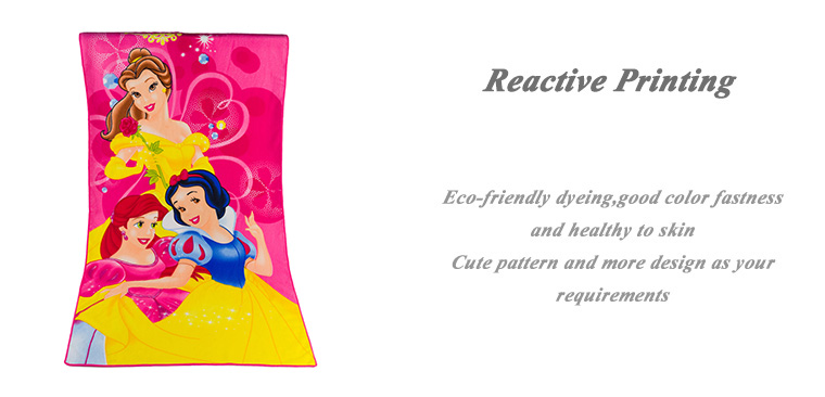 Promotional Microfiber Fabric Gift Beach Towel For Your Family