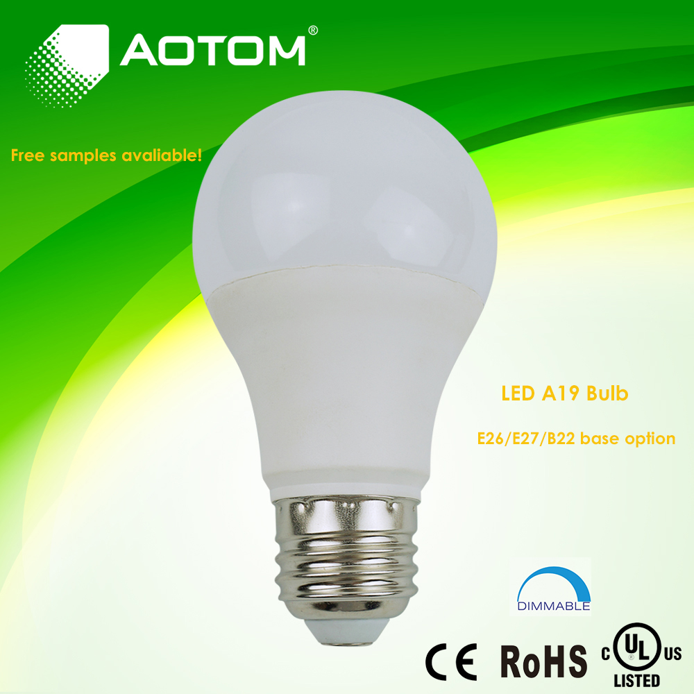 Distributor price led a19 bulb 9w 800lm
