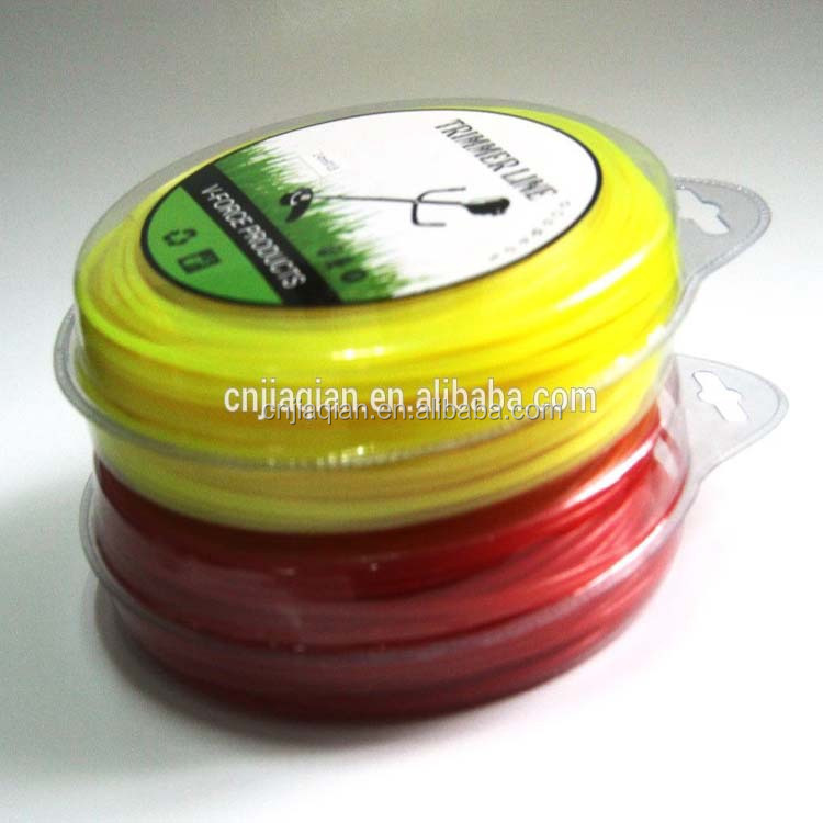2015 Hot Sale 4mm X15M Trimmer / Grass Cutter Nylon Line