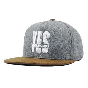 a09adfcf5cc Fashion Custom 3d Embroidery 5 Panel Wool Cap Snapback Hats