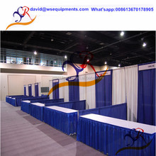 Top quality pipe drape system / telescopic crossbar and upright pole