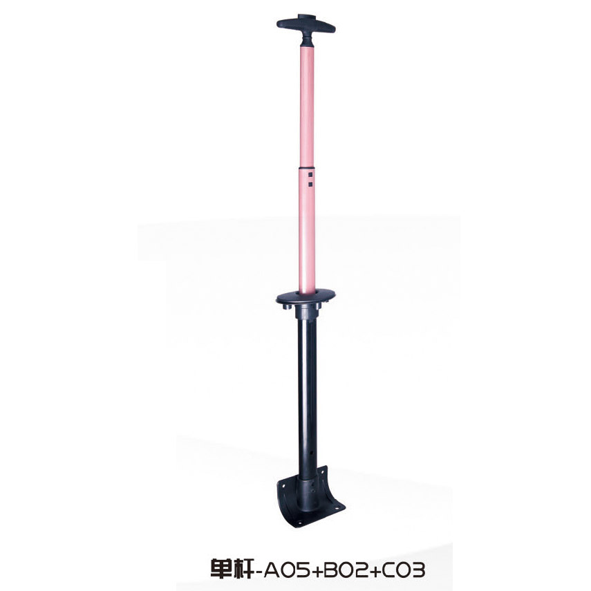 Low price high quality telescopic single luggage trolley handle detachable suitcase pull handle for luggage