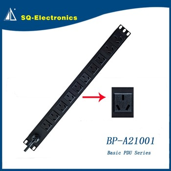 Basic PDU-A21002 factory made rack server power distribution cabinet