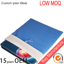 10 inch tablet protective storage bag,wool cloth tablet case easy carry