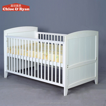 Convertible wooden baby crib baby nursery furniture antique baby furniture