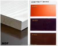 laminated mdf board high gloss mdf with UV coating