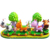 Funny Kiddie Rides Indoor Riding Train Set Animal Style Electric Track Train