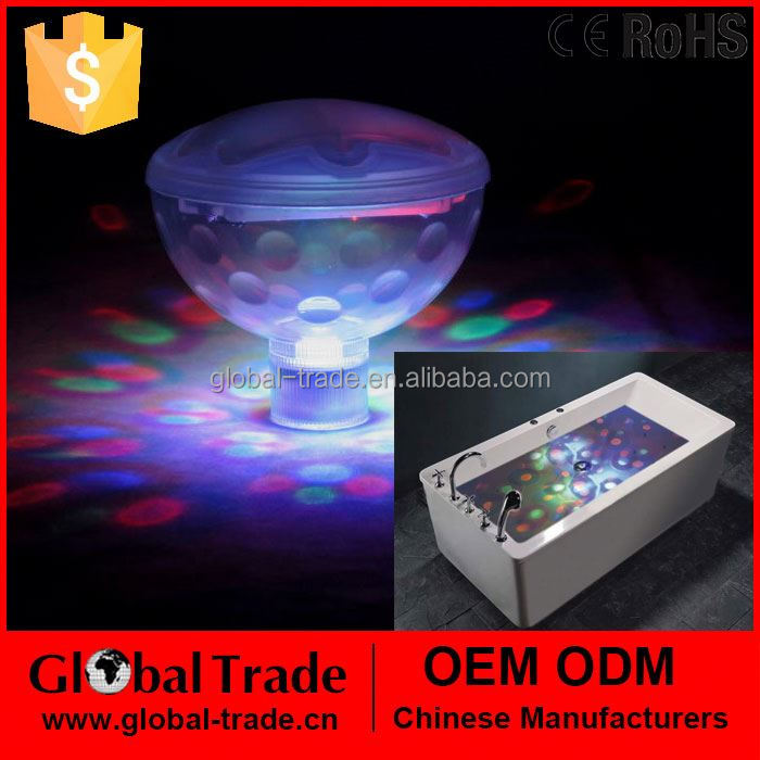 Floating Underwater Led Disco AquaGlow Light Show Swimming Pool Hot Tub Spa Lamp H0079