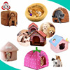 chinese cheap stuffed pet accessories bed plush pet accessories bed