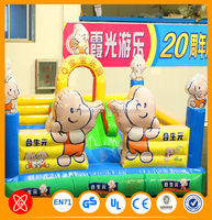 Commercial grade Funny inflatable fun city bouncy jumping castle