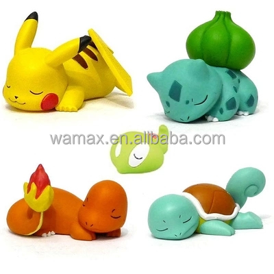 Pocket Monsters pokemon merchandise items Figures 3D japanese cartoon anime game OEM&ODM Customize pvc figure toy manufacturer