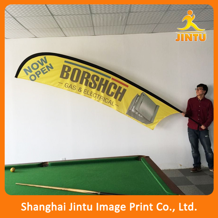 2016 advertsing flags custom Flying banner teardrop flag feather banner