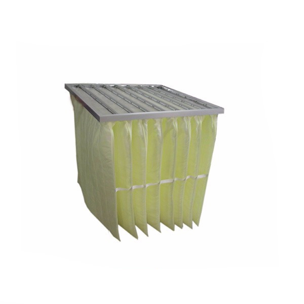 Glass Fiber Media F8 Bag Air Filter for HVAC System