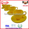 Silicone Cupcake Decorations Model,Set of 4,Teacup Shaped Cake Mould