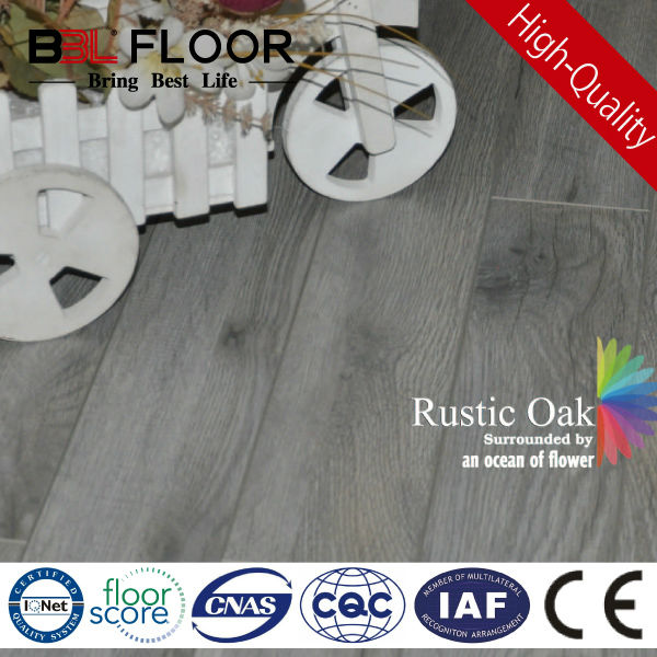 12mm AC3 light Rustic Oak standard finish merbau wood decking 1686-8