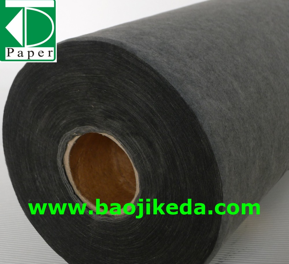 nonwoven activated carbon air filter paper in roll