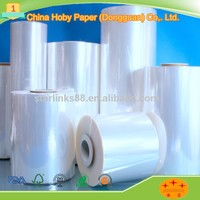 China manufacturer heat shrink packing clear plastic PE Film