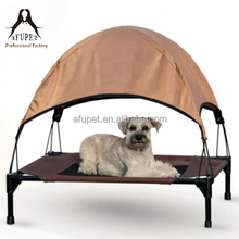 Lunxry Elevated Cooling Pet Dog Sleep Bed Portable Pet Bed With Roof