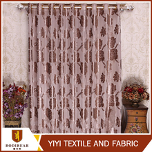 Top selling Window treatments Beautiful cheap fabric door curtain