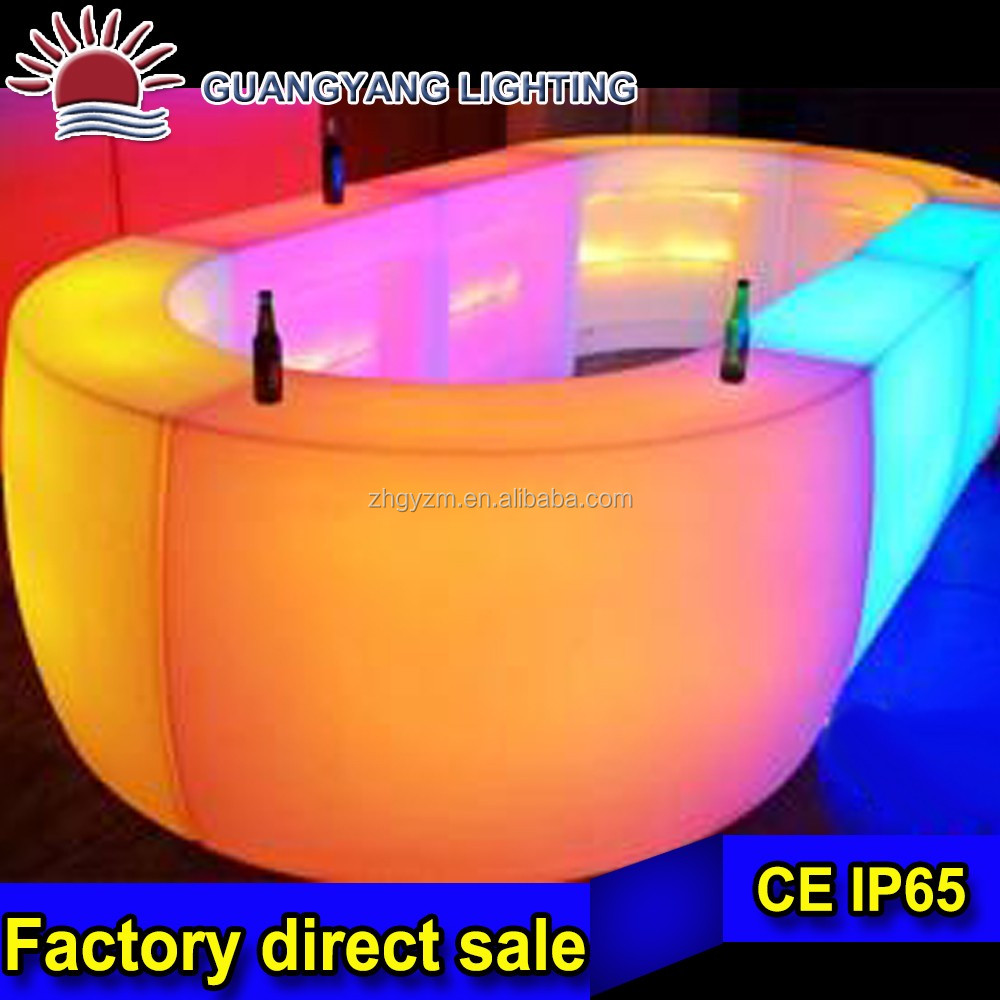 portable bar counter bar counter furniture led bar counter